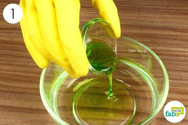 make a detergent solution