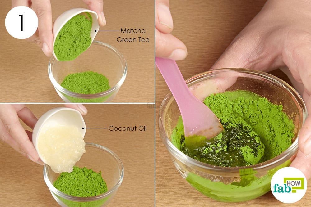 green tea face pack for dry skin