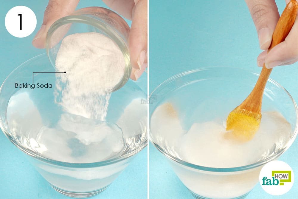 Step 1. Add Baking Soda To Water