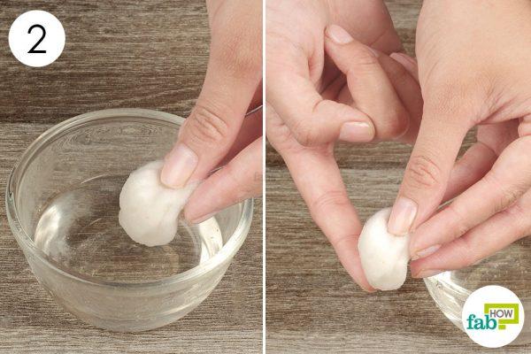 apply epsom salt compress on the blood blister
