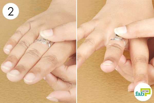 twist and remove the ring