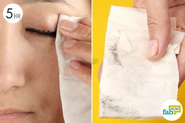 use the wipe to remove makeup