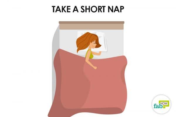 take a short nap