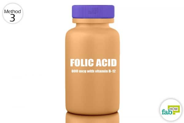 take folic acid supplements