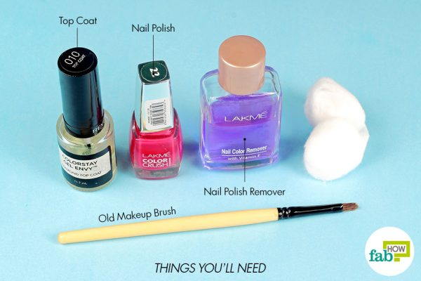 things you'll need to apply nail polish like a pro