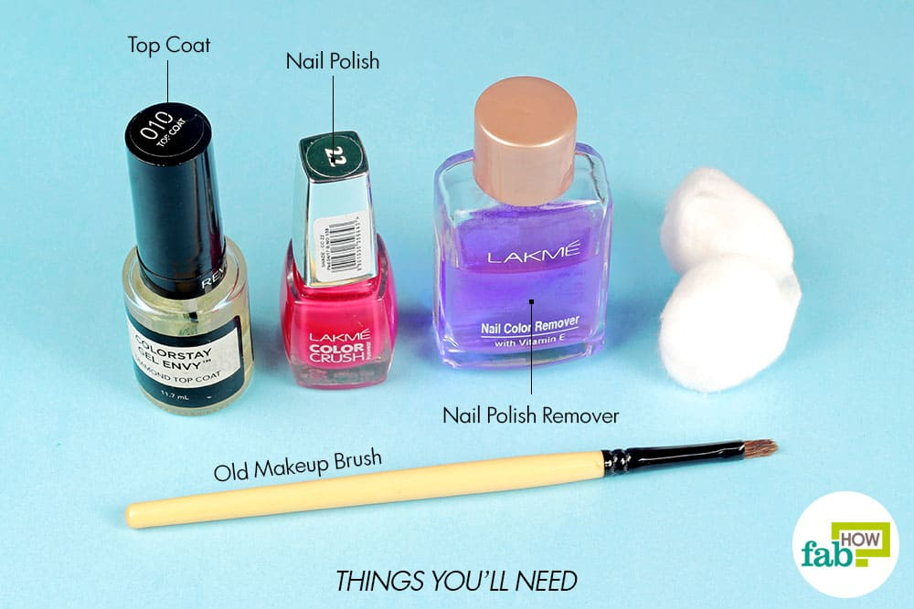 How to apply nail polish like a pro step by step guide for How to renew old nail polish