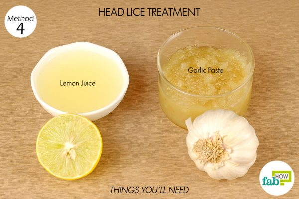 things you'll need for head lice treatment