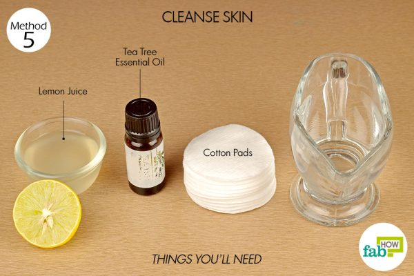 things you'll need to cleanse skin