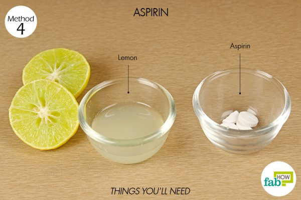 things you'll need to use aspirin to get rid of keloid scar