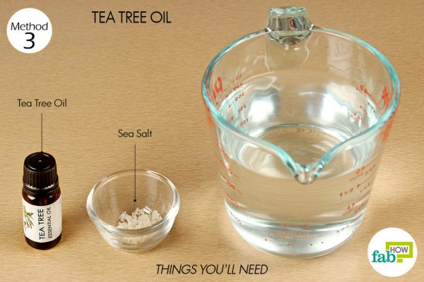 things you'll need to use tea tree oil to get rid of keloid scar