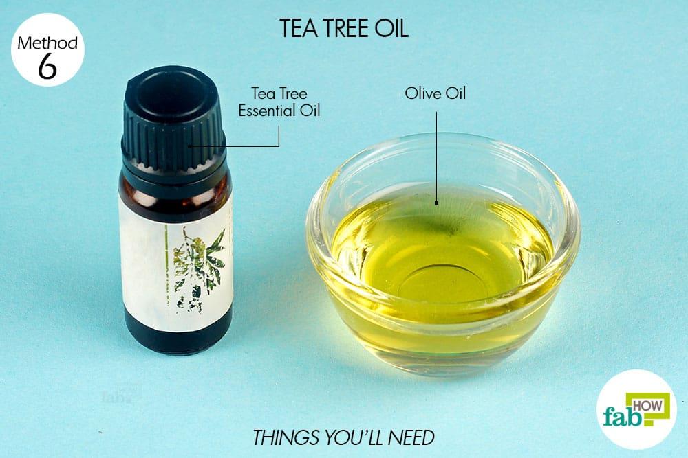 Tea tree oil and vaginal odor