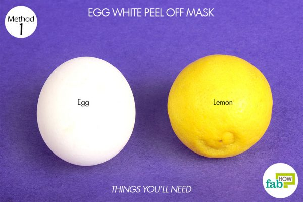 things you'll need to make diy peel-off facial mask without gelatin