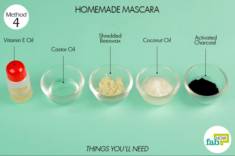 Method 4: Homemade Mascara