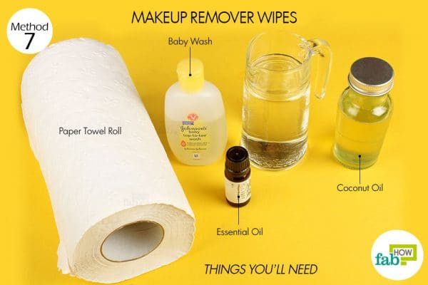 things you'll need to make makeup remover wipes