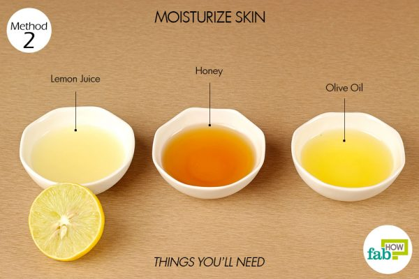 things you'll need to moisturize skin