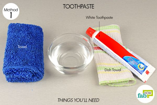things you'll need to use toothpaste to remove permanent marker from wood