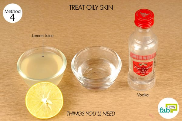 things you'll need to treat oily skin