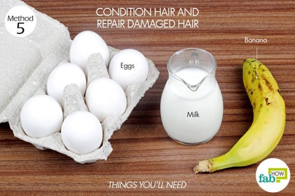 things you'll need to condition and repair damaged hair