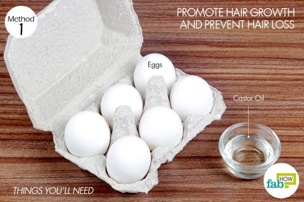 things you'll need topromote hair growth and prevent hair loss