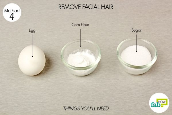 things you'll need to remove facial hair