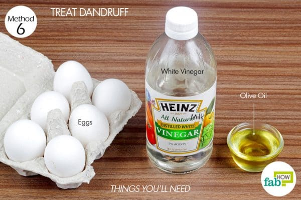 things you'll need to treat dandruff