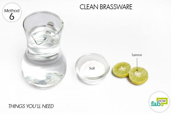 things you'll need for cleaning brassware