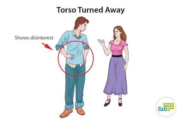 torso turned