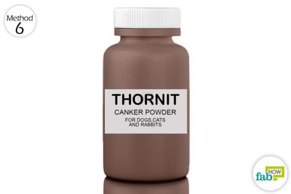 use Thornit powder