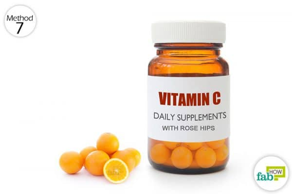 use vitamin c with rose hips