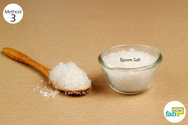 use epsom salt as side additive