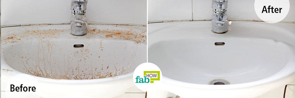 Both Borax And Vinegar Are Age Old Ingredients When It Comes To Cleaning  And Can Be Used Together To Shine Up And Clean A White Porcelain Sink.