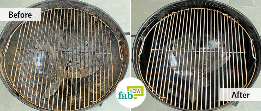 cleaning grill grates how to clean charcoal grill 5 methods with real cleaning 30335