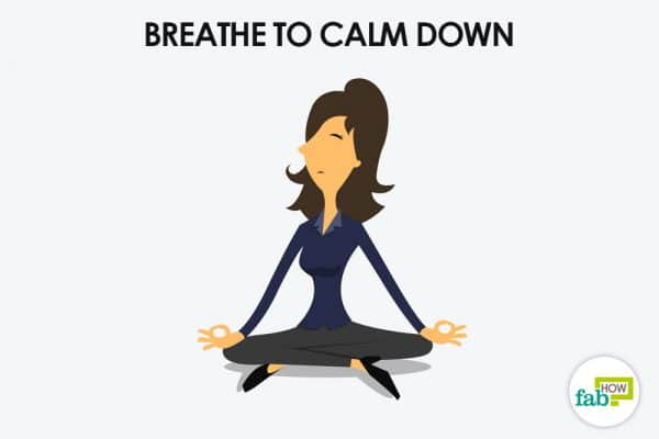 breath to calm down