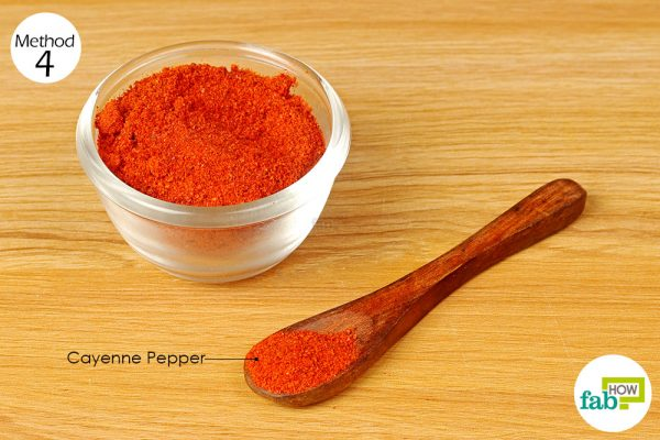 consume cayenne pepper