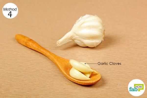 consume garlic