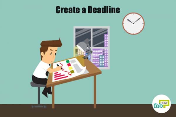 create a deadline