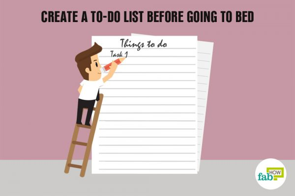 create a to-do list