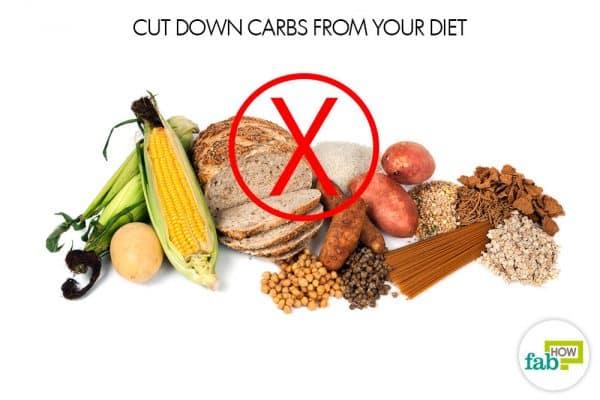 cut down carbs