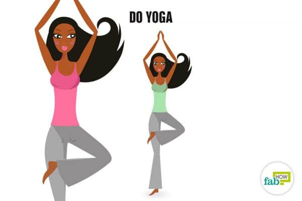 do yoga together