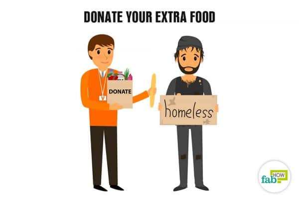 donate your extra food