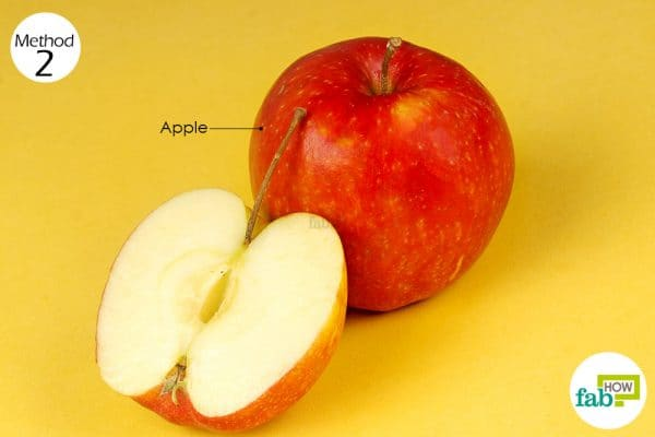 eat apple after consuming garlic