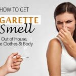 how to take cigarette smell out of house
