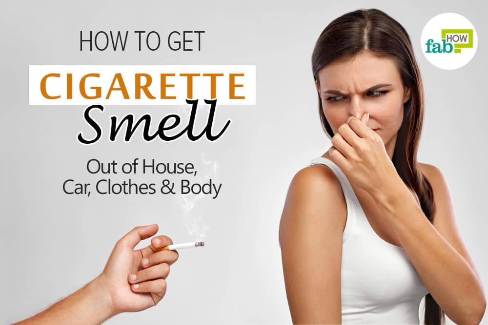 How To Get Out Smoke Smell From Car
