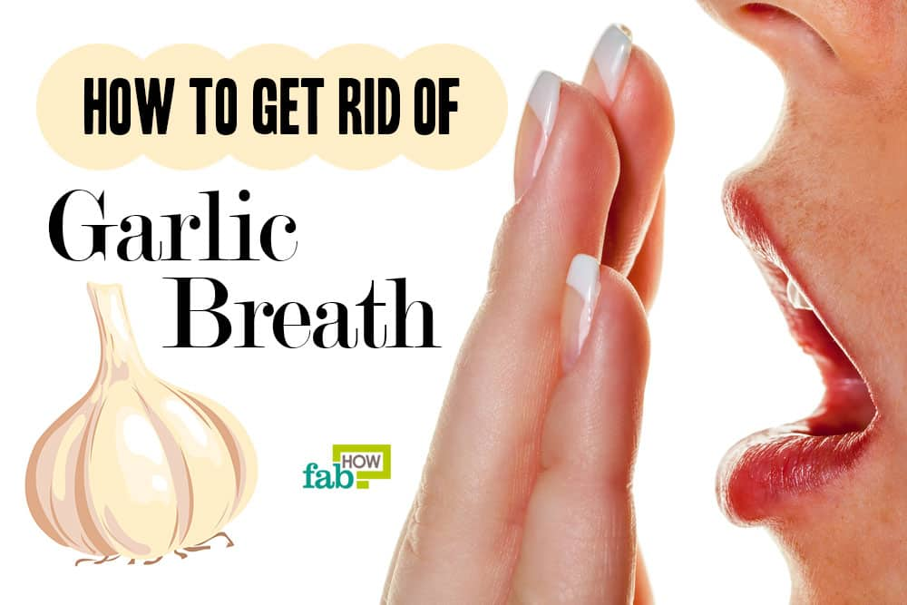 feat how to get rid of garlic breath
