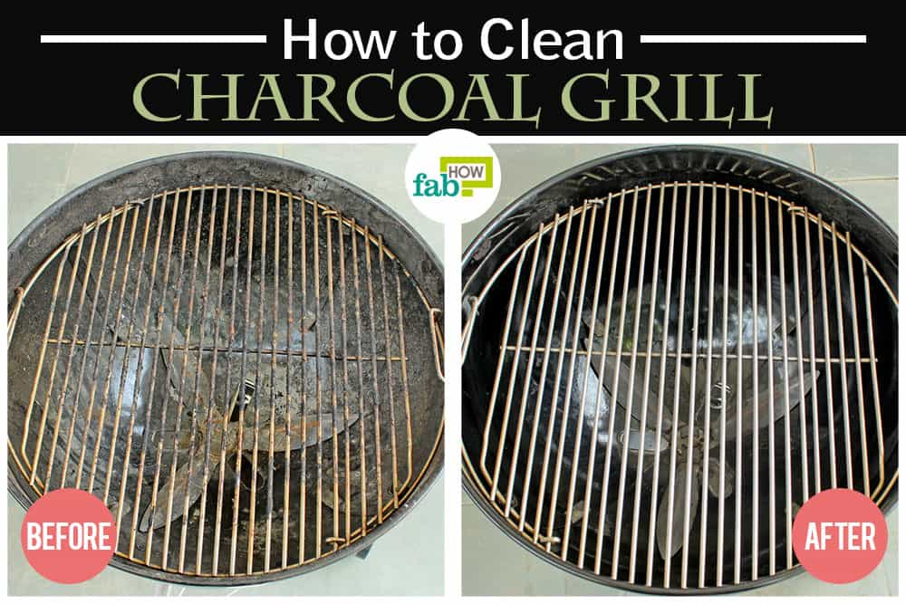 how to clean a BBQ grill