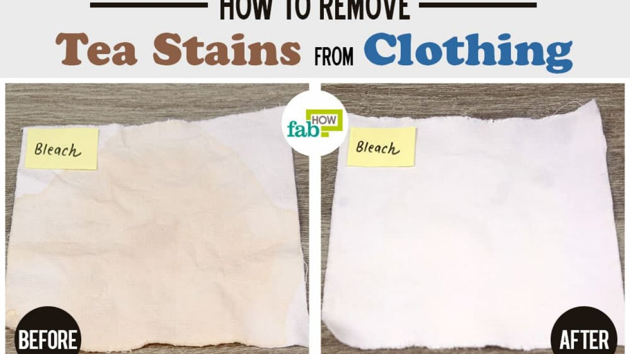 How To Remove Tea Stains From Clothes We Tried All Methods