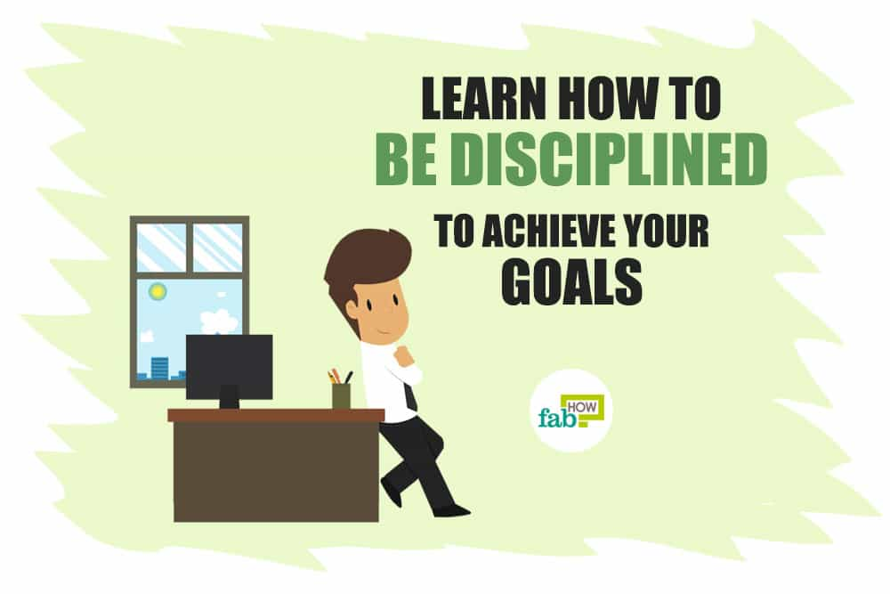 how to stay discipline