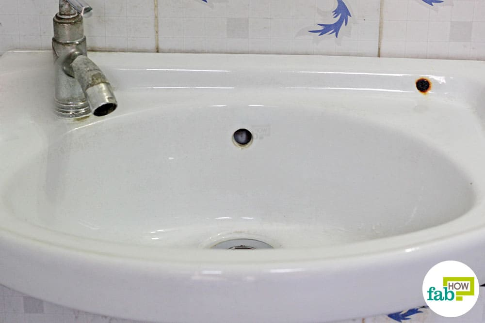 How To Clean A White Porcelain Sink And Restore Its Shine Fab How
