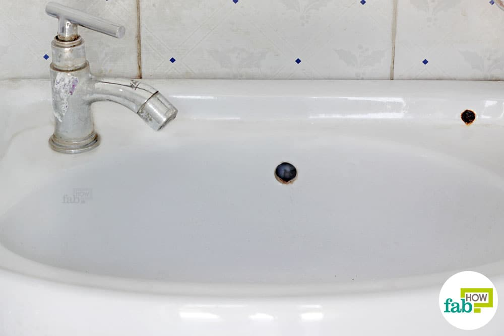 How To Clean A White Porcelain Sink And Restore Its Shine