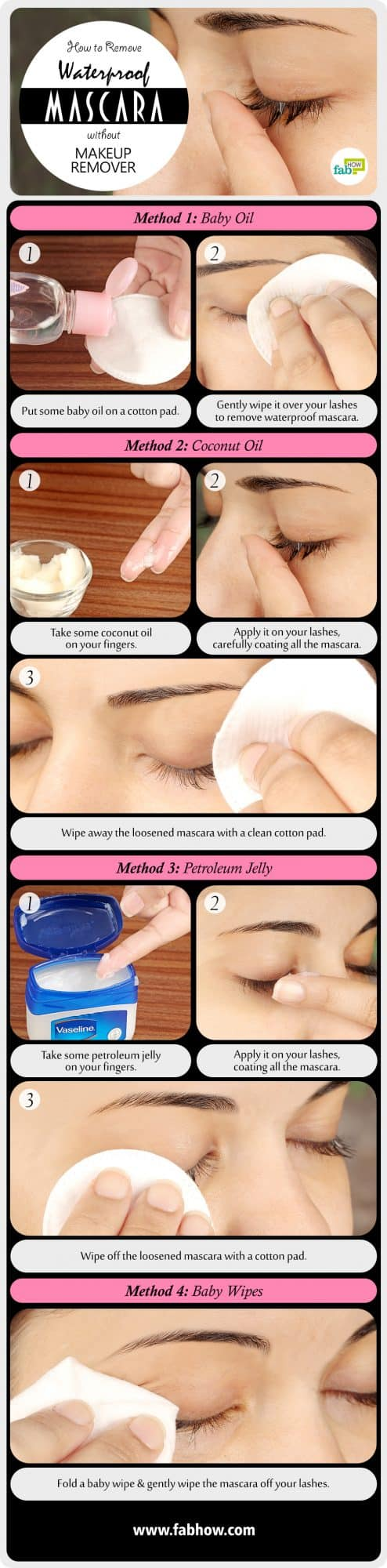 How to Remove Waterproof Mascara summary
